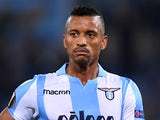 Lazio's Nani in Europa League action against Vitesse on November 23, 2017
