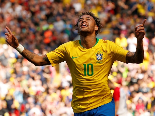 Result: Brazil see off Mexico to reach quarters