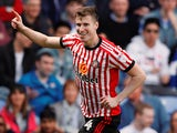 Sunderland's Paddy McNair celebrates scoring against Reading on April 14, 2018