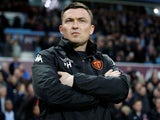 Paul Heckingbottom in charge of Leeds United on April 13, 2018