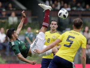 Dos Santos goal helps Mexico down Scotland