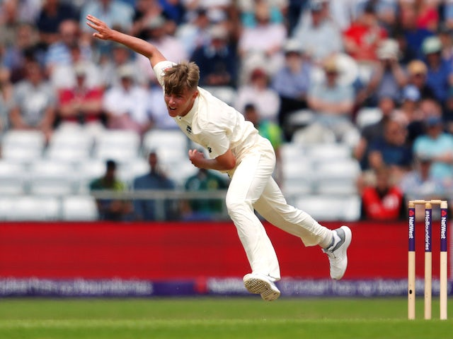Sam Curran makes his England debut in the second Test against Pakistan on June 1, 2018