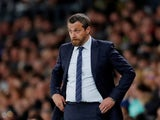 Fulham manager Slavisa Jokanovic pictured on May 11, 2018