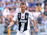 Juventus defender Stephan Lichtsteiner in action during a Serie A clash with Hellas Verona on May 19, 2018