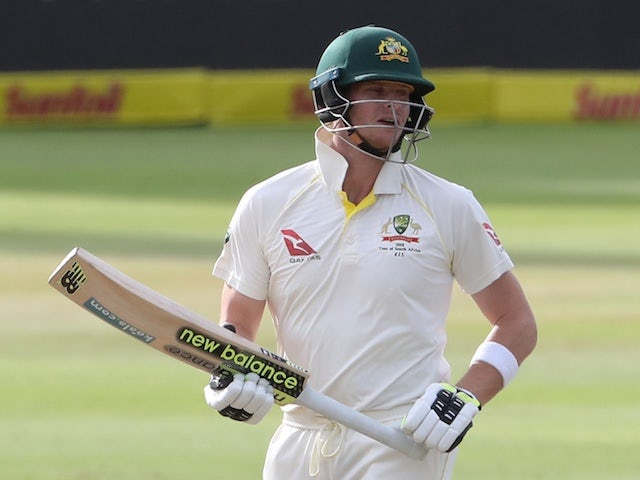 Steve Smith marks Australia return with half-century