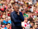 Brazil coach Tite gestures on the touchline during an international friendly with Croatia at Anfield on June 3, 2018
