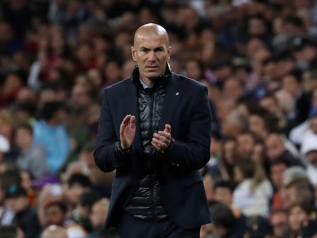 Zidane meets with Man Utd ambassador