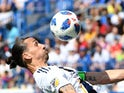 Zlatan Ibrahimovic in action for LA Galaxy on May 20, 2018