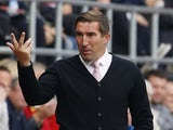 Alan Stubbs in charge of Rotherham United on October 4, 2016
