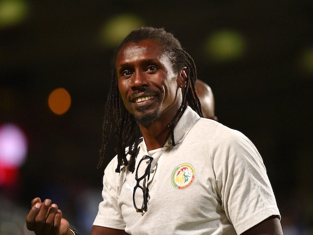 Senegal manager Aliou Cisse on May 31, 2018