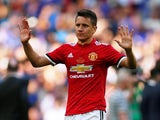 Ander Herrera in action for Manchester United in the FA Cup final on May 19, 2018
