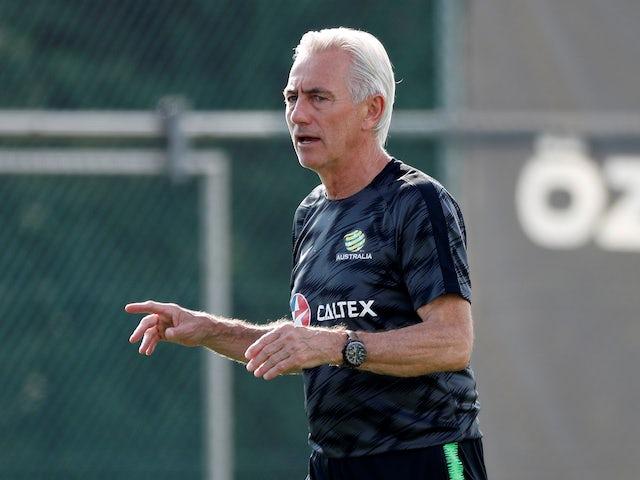 Australia manager Bert van Marwijk on May 29, 2018