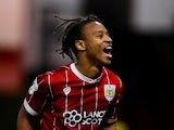 Bobby Reid in action for Bristol City on August 22, 2017