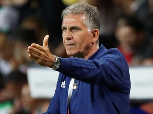 Iran manager Carlos Queiroz on May 28, 2018