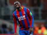 Christian Benteke in action for Crystal Palace on December 31, 2017