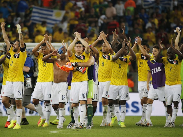 Result: Colombia win to send Poland tumbling