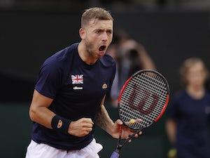 Result: Evans loses Nottingham Challenger final