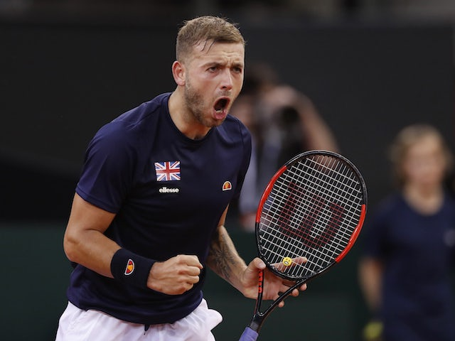 Result: Dan Evans into last eight at Nottingham