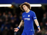 David Luiz in action for Chelsea in the FA Cup on January 17, 2018