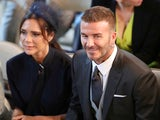 David Beckham and Victoria Beckham in happier times at the Royal Wedding on May 19, 2018