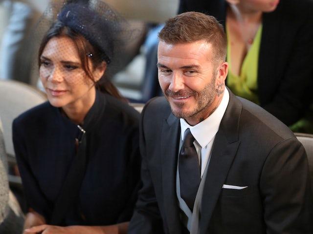Beckham wins UEFA President's Award