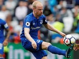 Davy Klaassen in action for Everton on May 13, 2018