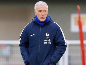 France manager Didier Deschamps on March 19, 2018