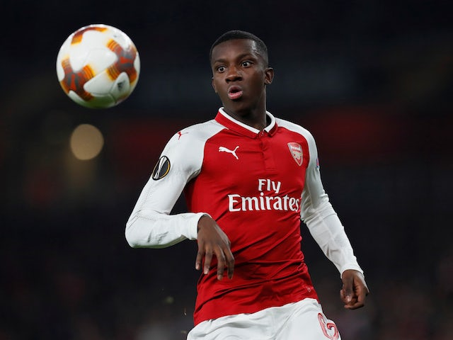 Nketiah confident he can thrive on pressure at Leeds