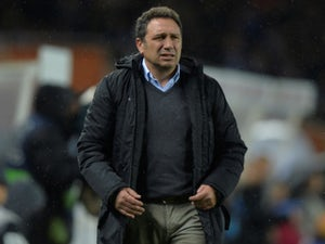 Eusebio Sacristan in charge of Real Sociedad on January 14, 2018