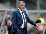 Portugal manager Fernando Santos on May 28, 2018