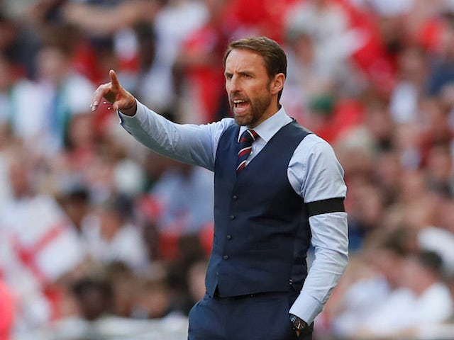 England manager Gareth Southgate on June 2, 2018