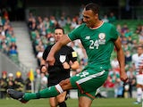 Graham Burke in action for Republic of Ireland on June 2, 2018
