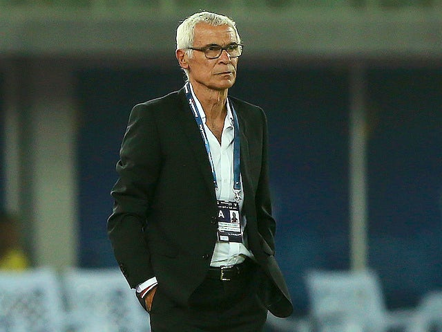 Egypt manager Hector Cuper on May 25, 2018