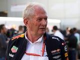 Red Bull team's head of driver development programme Helmut Marko on April 28, 2018