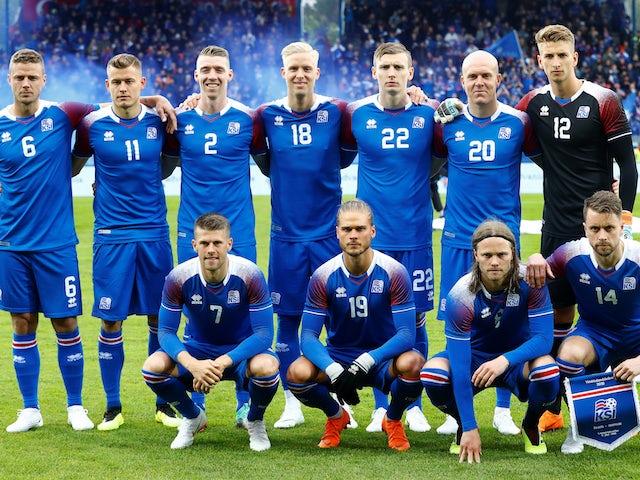 Team News: Iceland make three changes against Croatia
