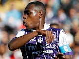 Issa Diop in action for Toulouse on April 29, 2017