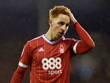 Jack Colback in action for Nottingham Forest on February 3, 2018