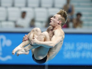 Jack Laugher in action in July 2017