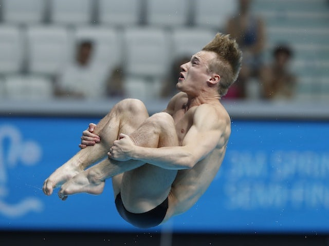 Jack Laugher leads GB's Europeans squad