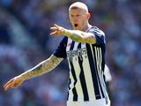 West Bromwich Albion's James McClean in action against Tottenham Hotspur on May 5, 2018