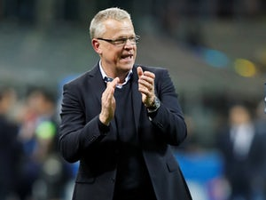 Sweden manager Janne Andersson on November 13, 2017