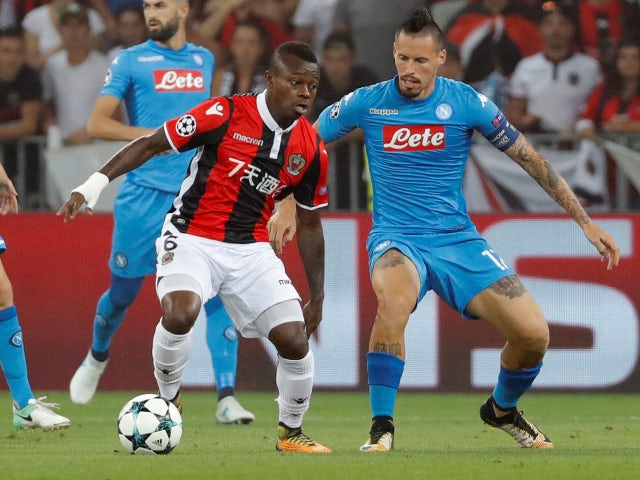 Seri 'has not travelled with Nice squad'