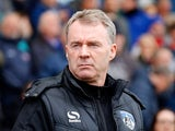 Oldham Athletic manager John Sheridan pictured on April 15, 2017