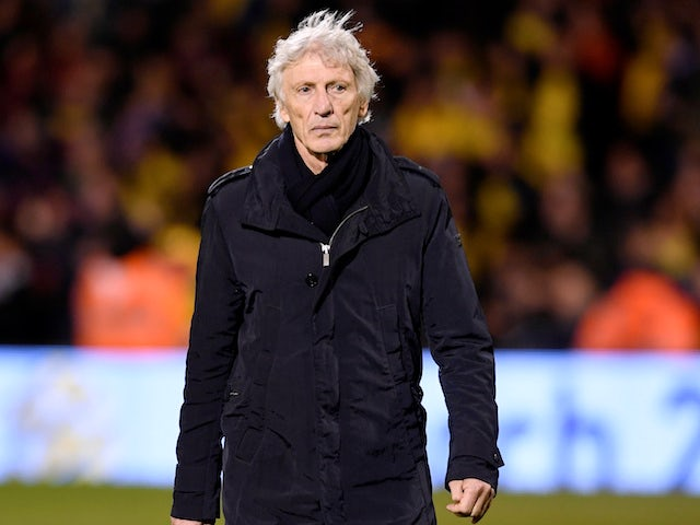 Colombia manager Jose Pekerman on March 27, 2018