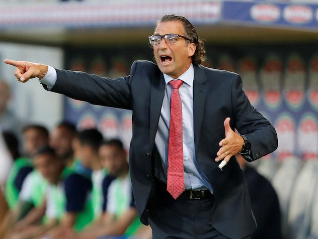 Saudi Arabia manager Juan Antonio Pizzi on May 28, 2018