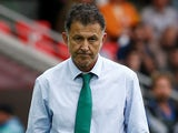 Mexico manager Juan Carlos Osorio on July 2, 2017