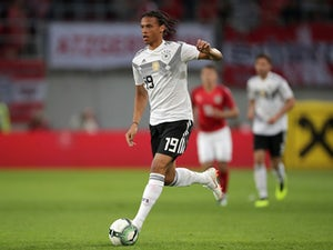 Leroy Sane 'reacts' to World Cup snub