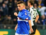 Lucas Torreira in action for Sampdoria on November 19, 2017
