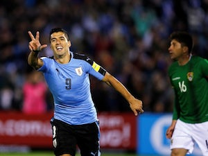Result: Uruguay beat Russia to top Group A