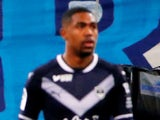 Bordeaux's Malcom looks dejected in the game against Marseille on February 18, 2018